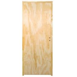 Puerta Placa pino marco madera - 80x07 (Super...