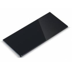 Vidrio rectuangular color negro