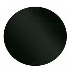 Vidrio redondo color negro