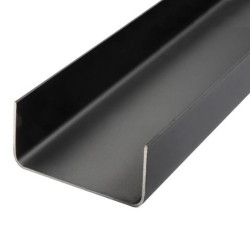 Perfil U LAC 100x50x2.0mm - x Barra 12m