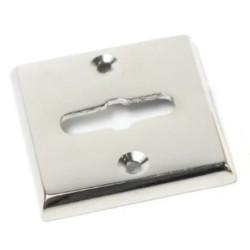 Boca llave común cuadrada bronce cromo 44mm x...