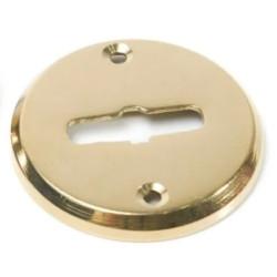 Boca llave común redonda bronce pulido 38mm x...