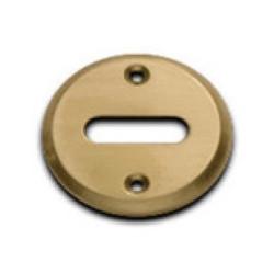 Boca llave común redonda bronce pulido 41mm x...