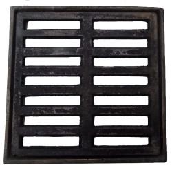 Reja para piso 20x20 - Hierro fundido con marco