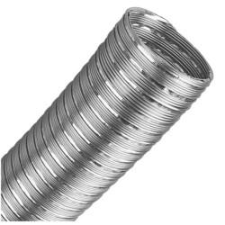 Caño de alumino flexible 4 x 1 metro