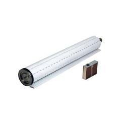 Cortina de enrollar - PVC 120x170cm - Blanca -...