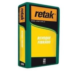 Revoque fibrado x 30Kg - Retak