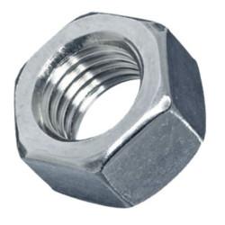 """Tuerca Hexagonal galvanizada 1/8"""""""