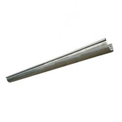Canaleta media caña - 15cm x tramo de 1mts