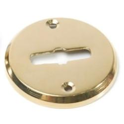 Boca llave común redonda bronce pulido 48mm x...