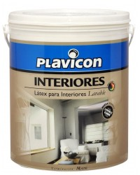 PLAVICON-LATEX INTERIOR BLANCO X 10 LT