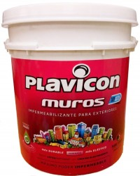 PLAVICON MUROS XP BLANCO X 25 KG