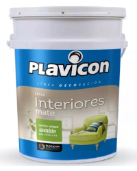 PLAVICON LATEX INTERIOR BLANCO X 4 LT