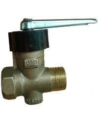 LLAVE GAS FV-MH APROB. 19MM BRONCE 810.01