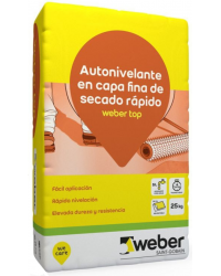 WEBER FLOOR TOP AUTONIVELANTE 25KG