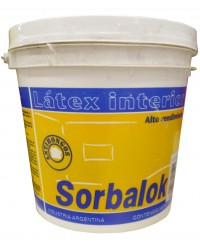 Sorbalok latex interior blanco x 10 litros