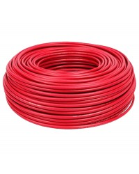Cable rojo 1 x 4,0mm x ml