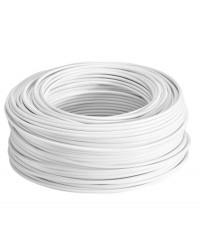 Cable blanco 1 x 4,0mm x ml