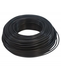 Cable negro - 1 x 6,0mm x ml