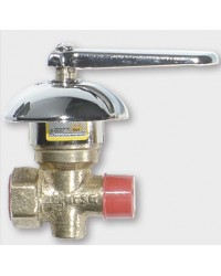 Llave de gas con campana 13mm