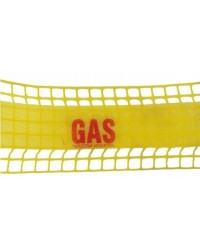 Malla advertencia gas 15 cm x ml (Minimo de compra 5 mts)