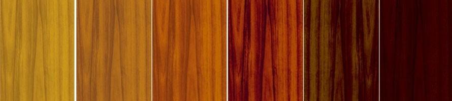 Tintas para madera