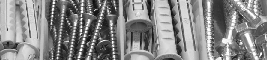 Tornillos, tarugos y separadores