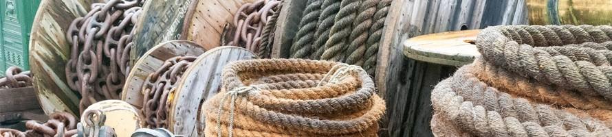 Sogas, cadenas y accesorios